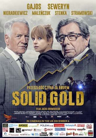 Solid Gold Plakat UK - 330